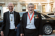 ALLEN JONES; NORMAN ROSENTHAL, , Royal Academy Annual dinner, Piccadilly, London. 6 June 2016