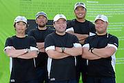 Wataru Sakamoto (JPN) centre and his Siesta Team. The Korea Match Cup held in San Hwasung City in the Gyeonggi Province of Korea. 12/6/2008
