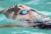 Belo Horizonte_MG, Brasil...Nadadora Nicole Hetzer, da Alemanha, na prova 400m medley, durante a  ultima etapa da Copa do  Mundo de Natacao 2006 em Belo Horizonte...The swimmer Nicole Hetzer, of Germany, in the 400m medley, during the last stage of the Swimming World Cup 2006 in Belo Horizonte...Foto: LEO DRUMOND / NITRO..