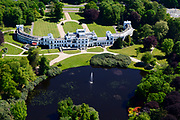 Nederland, Noord-Holland, Baarn, 07-05-2018; Paleis Soestdijk. Het paleis is nu in handen van een particuliere eigenaar, projectontwikkelaar.<br /> Soestdijk palace, residence of the former queen Juliana and prince Bernhard.<br /> luchtfoto (toeslag op standard tarieven);<br /> aerial photo (additional fee required);<br /> copyright foto/photo Siebe Swart