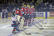 KELOWNA, CANADA - NOVEMBER 26:  Pepsi Player of the game in the lineup at the Kelowna Rockets game on November 26, 2016 at Prospera Place in Kelowna, British Columbia, Canada.  (Photo By Cindy Rogers/Nyasa Photography,  *** Local Caption ***