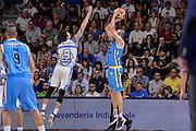 DESCRIZIONE : Beko Legabasket Serie A 2015- 2016 Dinamo Banco di Sardegna Sassari -Vanoli Cremona<br /> GIOCATORE : Marco Cusin<br /> CATEGORIA : Tiro Tre Punti Three Point Controcampo<br /> SQUADRA : Vanoli Cremona<br /> EVENTO : Beko Legabasket Serie A 2015-2016<br /> GARA : Dinamo Banco di Sardegna Sassari - Vanoli Cremona<br /> DATA : 04/10/2015<br /> SPORT : Pallacanestro <br /> AUTORE : Agenzia Ciamillo-Castoria/L.Canu