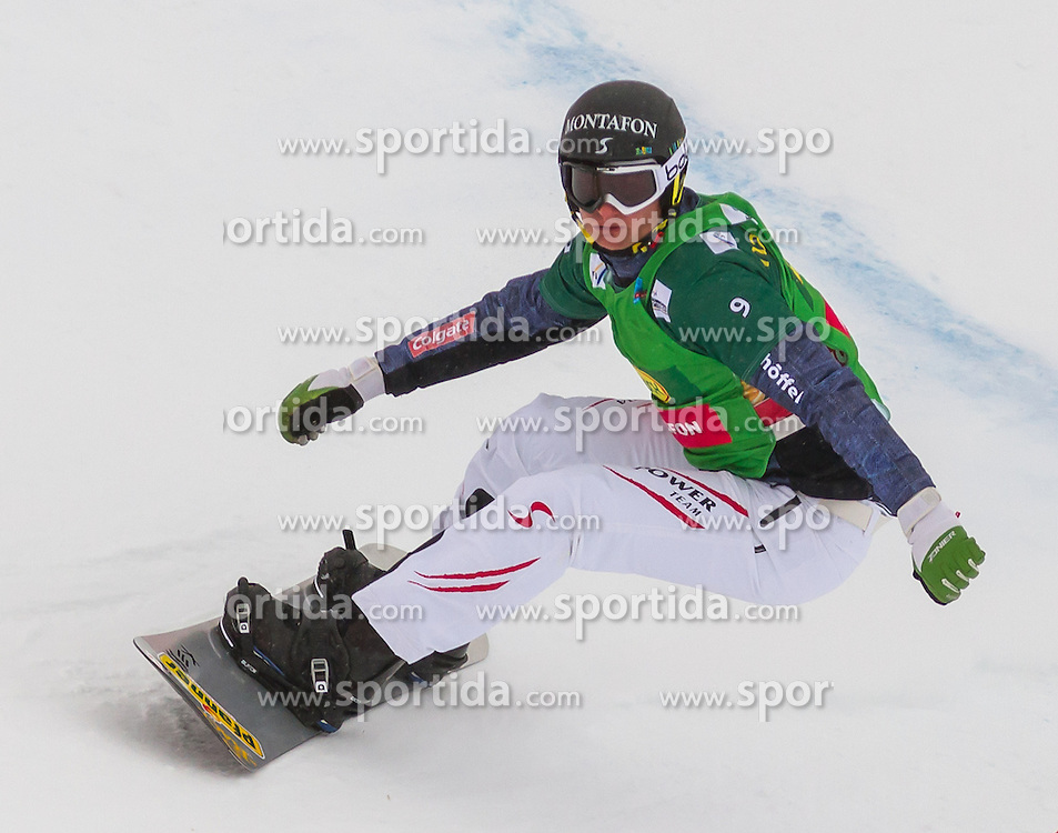 07.12.2012, Montafon Seebliga, Schruns, AUT, FIS Worldcup SBX, Spezialbewerb, Damen, 1. Lauf, im Bild Alessandro Haemmerle (AUT) // Alessandro Haemmerle of Austria during 1st run of ladies Special Event of the SBX Weltcup at the Montafon Seebliga course, Schruns, Austria on 2012/12/07. EXPA Pictures © 2012, PhotoCredit: EXPA/ Peter Rinderer