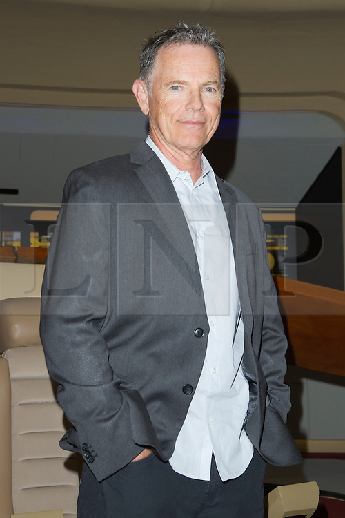 © Licensed to London News Pictures. 03/10/2014. London, England. Actor Bruce Greenwood. Star Trek actors attend photocalls on the first day of Star Trek Destinations 3 at the Excel Exhibition Centre in East London.  Photo credit: Bettina Strenske/LNP