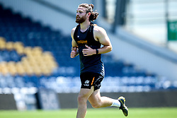 Ollie Morris of Worcester Warriors in action, as the team return to training in small socially distant groups after the Coronavirus lockdown restrictions were eased - Mandatory by-line: Robbie Stephenson/JMP - 23/06/2020 - RUGBY - Sixways Stadium - Worcester, England - Worcester Warriors Training