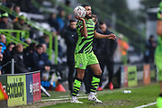 Forest Green Rovers Dominic Bernard(3) during the The FA Cup match between Forest Green Rovers and Billericay Town at the New Lawn, Forest Green, United Kingdom on 9 November 2019.