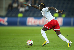 06.08.2014, Red Bull Arena, Salzburg, AUT, UEFA CL Qualifikation, FC Red Bull Salzburg vs Qarabag FK, dritte Runde, Rueckspiel, im Bild Sadio Mane, (FC Red Bull Salzburg, #10) //during UEFA Champions League Qualifier second leg 3rd round match between FC Red Bull Salzburg vs Qarabag FK at the Red Bull Arena in Salzburg, Austria on 2014/08/06. EXPA Pictures © 2014, PhotoCredit: EXPA/ Roland Hackl