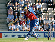 2005 Twenty/20 Cricket England vs Australia, The Rose Bowl, Southampton, Hampshire, ENGLAND 13.06.2005, Kevin Peitersen finds the sweet spot of the bat, as he strikes the ball away for a boundary..Photo  Peter Spurrier. .email images@intersport-images...