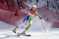 15-02-2018 KOR: Olympic Games day 6, PyeongChang<br /> Alpine Skiing Ladies Giant Slalom / Ana Bucik of Slovenia