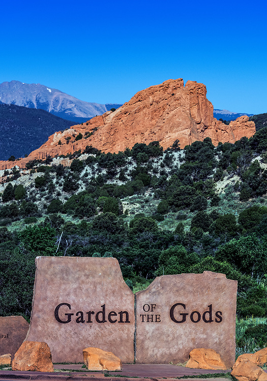 Garden of the Gods Park, Colorado Springs, Colorado, USA.