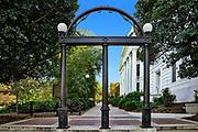 The Georgia Arch, University of Georgia, Athens, Georgia, USA