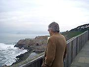 Daniel Doiy at the Cliff House in San Francisco on Jason and Caroline's wedding day.Jan 16, 2010.photo by Daneille Addleman