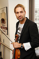 David Garrett visits the studios of SiriusXM Satellite Radio in New York on June 6, 2012..Photo Credit ; Rahav Iggy Segev / Photopass.com