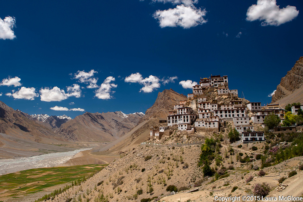 Kye Tibetan Monastery, Spiti Valley, India