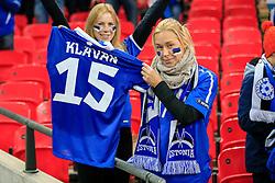 Estonia fans - Mandatory byline: Jason Brown/JMP - 07966 386802 - 09/10/2015- FOOTBALL - Wembley Stadium - London, England - England v Estonia - Euro 2016 Qualifying - Group E