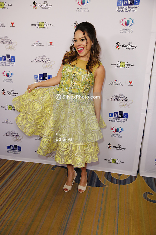 BEVERLY HILLS, CA - FEBRUARY 24:Gloria Garayua attends for The National Hispanic Media Coalition's 20th Annual Impact Awards Gala at the Beverly Wilshire Four Seasons Hotel on February 24, 2017. Byline, credit, TV usage, web usage or linkback must read SILVEXPHOTO.COM. Failure to byline correctly will incur double the agreed fee. Tel: +1 714 504 6870.