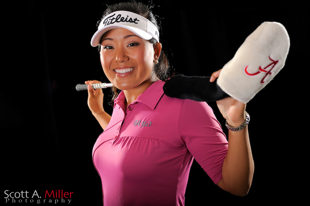 Jenny Suh during a portrait shoot prior to the LPGA Future Tour's Daytona Beach Invitational at LPGA International's Championship Courser on March 30, 2011 in Daytona Beach, Florida...©2011 Scott A. Miller