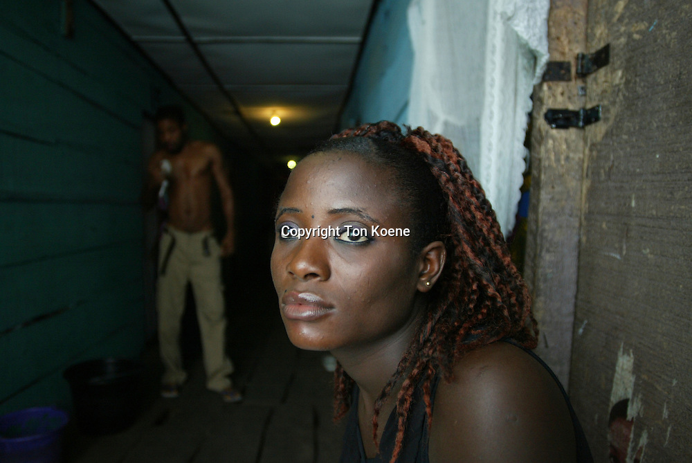 prostitution in the slums of Nigeria.