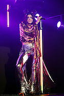 Marina and the Diamonds performs on stage at 02 Academy on February 16, 2015 in Glasgow,Scotland