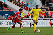 Burton Albion striker Marvin Sordell (9) during the EFL Sky Bet Championship match between Bristol City and Burton Albion at Ashton Gate, Bristol, England on 4 March 2017. Photo by Richard Holmes.