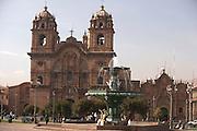 La Compania de Jesus  Plaza de Armas  Cusco, Peru