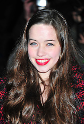 © Licensed to London News Pictures. 06/02/2012.  England. Anna Popplewell attends the Evening Standard Film Awards at County Hall westminster London Photo credit : ALAN ROXBOROUGH/LNP