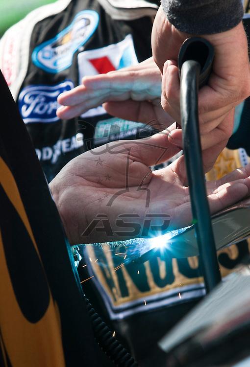 BRISTOL, TN - MAR 18, 2011:  Bristol Motor Speedway plays host to the NASCAR races