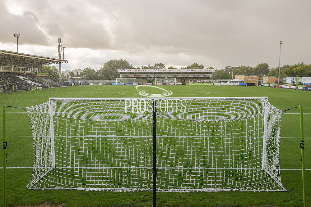 The New Lawn, home of Forest Green Rovers during the Vanarama National League match between Forest Green Rovers and Barrow at the New Lawn, Forest Green, United Kingdom on 1 October 2016. Photo by Shane Healey.