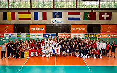 20180818 NED: Ceremony WEVZA Volleyball Championships <17, Arnhem