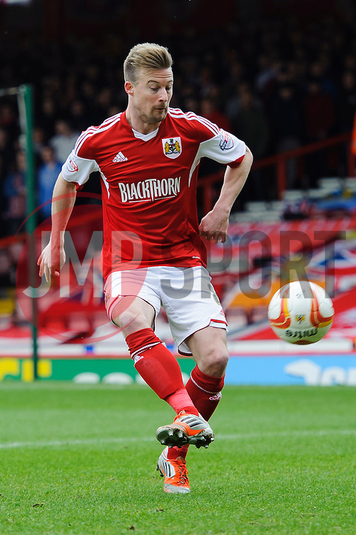Bristol City Midfielder Wade Elliott (ENG) in action - Photo mandatory by-line: Rogan Thomson/JMP - 07966 386802 - 01/03/2014 - SPORT - FOOTBALL - Ashton Gate, Bristol - Bristol City v Gillingham - Sky Bet League One.