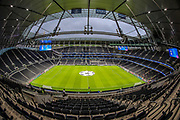 A general view inside Tottenham Hotspur stadium prior to the Champions League match between Tottenham Hotspur and Bayern Munich at Tottenham Hotspur Stadium, London, United Kingdom on 1 October 2019.