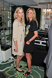 Left to right, KATE DRIVER and LISA BRIDGET at a party to celebrate the launch of Jax Coco - a new soft drink, held at Harvey Nichols 5th Floor Bar, 109-125 Knightsbridge, London on 25th June 2012.
