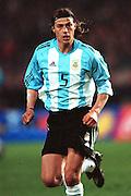 MATIAS ALMEYDA.ARGENTINA & LAZIO.STUTTGART, GERMANY.GERMANY V ARGENTINA.17/04/2002.FE65F27AC