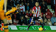 Nico Yennaris of Brentford during the Sky Bet Championship match between Brentford and Hull City at Griffin Park, London<br /> Picture by Mark D Fuller/Focus Images Ltd +44 7774 216216<br /> 03/11/2015