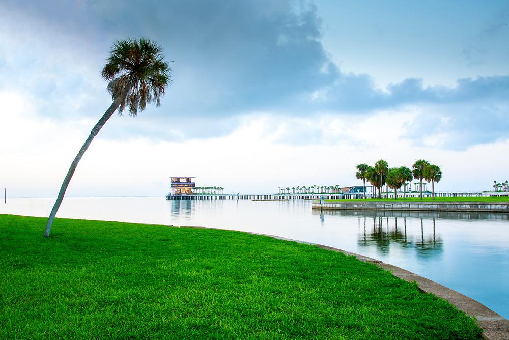 The new Pier District, Saint Petersburg, Florida.
