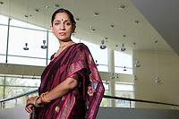 Woman in a Sari