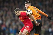 Liverpool v Wolverhampton W. - FA Cup 4th RND
