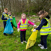 04.04.2017         <br /> St. Brigids National School, Singland Limerick were off the mark early for TLC3. <br /> Pictured during the clean up were, Kate O'Hanlon and Sarah O'Sullivan. Picture: Alan Place