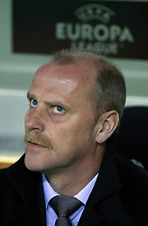11.03.2010, Estadio Mestalla, Valencia, ESP, UEFA Europa League, FC Valencia vs Werder Bremen, im Bild Thomas Schaaf ( Werder  - Trainer  COACH), EXPA Pictures © 2010, PhotoCredit: EXPA/ Alterphotos/  Miguel Angel Acero / SPORTIDA PHOTO AGENCY