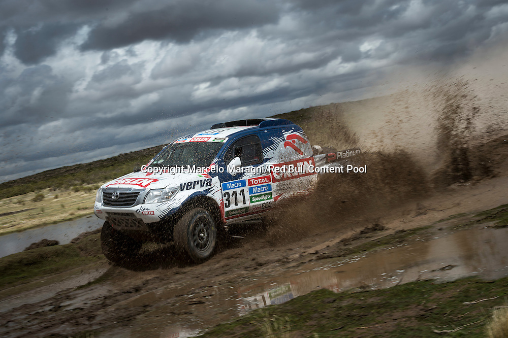 Marek Dabrowski races during the 7th stage of Rally Dakar 2015 from Iquique, Chile to Uyuni, Bolivia on January 10th, 2015 // Marcelo Maragni/Red Bull Content Pool // P-20150110-00105 // Usage for editorial use only // Please go to www.redbullcontentpool.com for further information. //