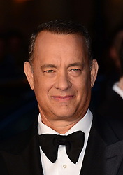Tom Hanks arriving for the premiere of his new film Captain Phillips on the opening night of the London Film Festival, Wednesday, 9th October 2013. Picture by Nils Jorgensen / i-Images