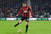 Ryan Fraser (24) of AFC Bournemouth during the Premier League match between Bournemouth and Brighton and Hove Albion at the Vitality Stadium, Bournemouth, England on 21 January 2020.