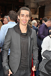 © London News Pictures. 18/06/2013. London, UK. Robert Sheehan at The Cripple of Inishmaan - Press Night. Photo credit: Brett D. Cove/LNP