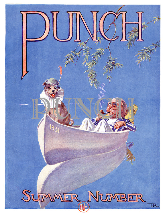 Punch Summer Number 1931 (front cover)