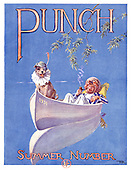 PUNCH 1930s Front Cover Cartoons