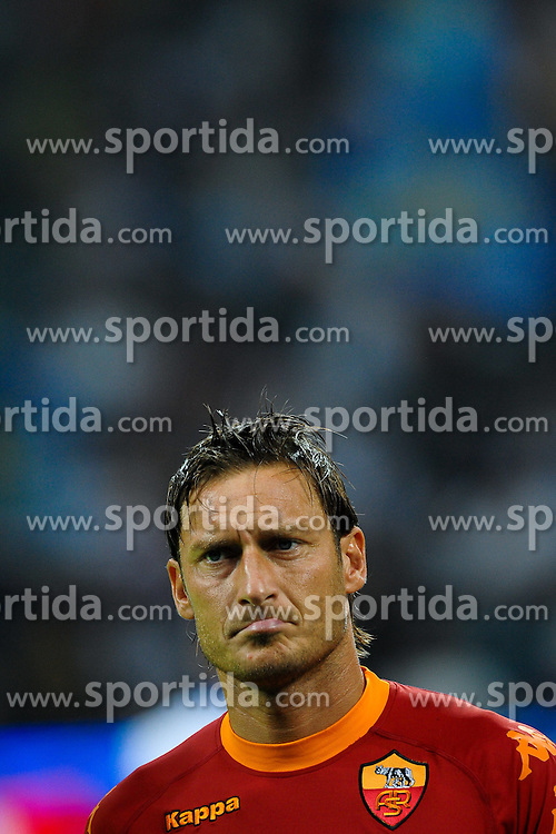 21.08.2010, Stadio Giuseppe Meazza, Mailand, ITA, Supercoppa Italiana 2010, Inter Mailand vs AS Rom, im Bild Francesco TOTTI Roma.EXPA Pictures © 2010, PhotoCredit: EXPA/ InsideFoto/ Andrea Staccioli +++++ ATTENTION - FOR AUSTRIA AND SLOVENIA CLIENT ONLY +++++... / SPORTIDA PHOTO AGENCY