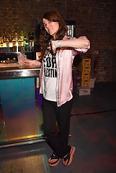"""Bella Freud at """"Hoping For Palestine"""" Benefit Concert For Palestinian Refugee Children held at The Roundhouse, Chalk Farm Road, England. 04 June 2018."""