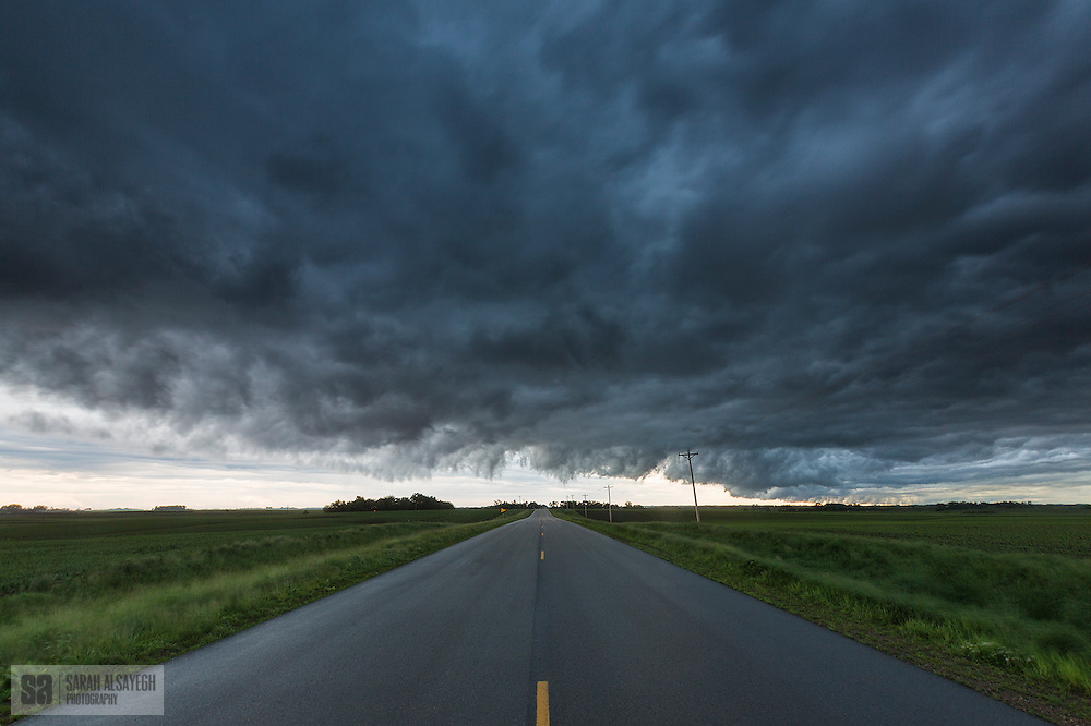 Tornado Alley is a colloquial term for the area of the United States (or by some definitions extending into Canada) where tornadoes are most frequent.[1] The term was first used in 1952 as the title of a research project to study severe weather in parts of Texas, Oklahoma, Kansas, South Dakota, Iowa, Illinois, Missouri, New Mexico, Colorado, North Dakota, and Minnesota only.[citation needed] It is largely a media-driven term although tornado climatologists distinguish peaks in activity in various areas[2] and storm chasers have long recognized the Great Plains tornado belt.[3]<br />
