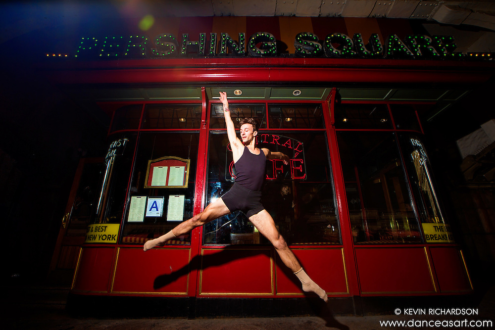 Diner Leap on 42nd Street Dance as Art The New York Photography Project featuring Andy Jacobs