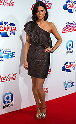 © Licensed to London News Pictures. 03/12/2016. Capital FM presenter LILAH PARSONS attends Capital's Jingle Bell Ball with Coca-Cola at London's O2 Arena London, UK. Photo credit: Ray Tang/LNP